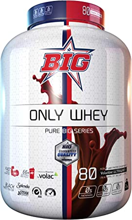 Big ONLY WHEY concentrado proteina Black Forest 2 Kg: Amazon ...