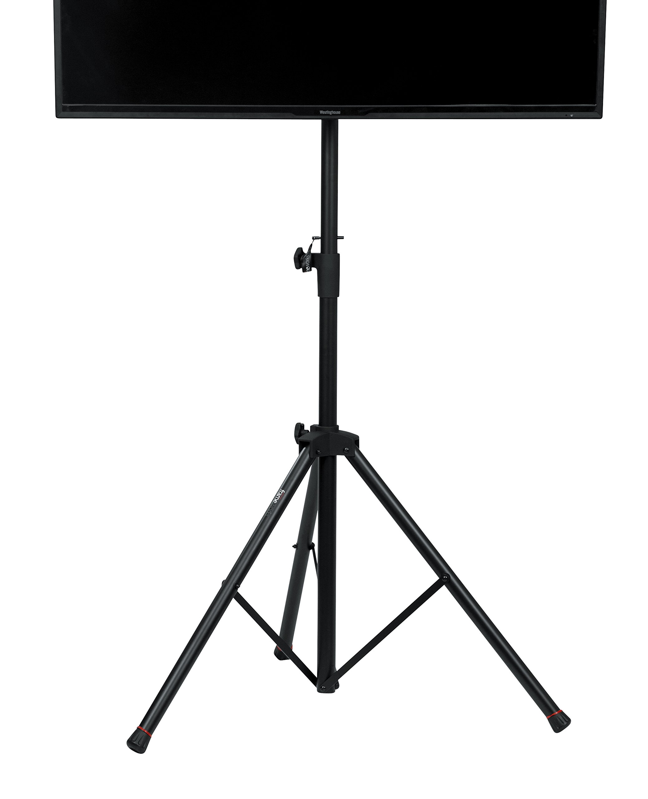 Gator Frameworks Standard Adjustable Tripod LCD/LED TV Monitor stand for Screens up to 48'' (GFW-AV-LCD-1) by Gator