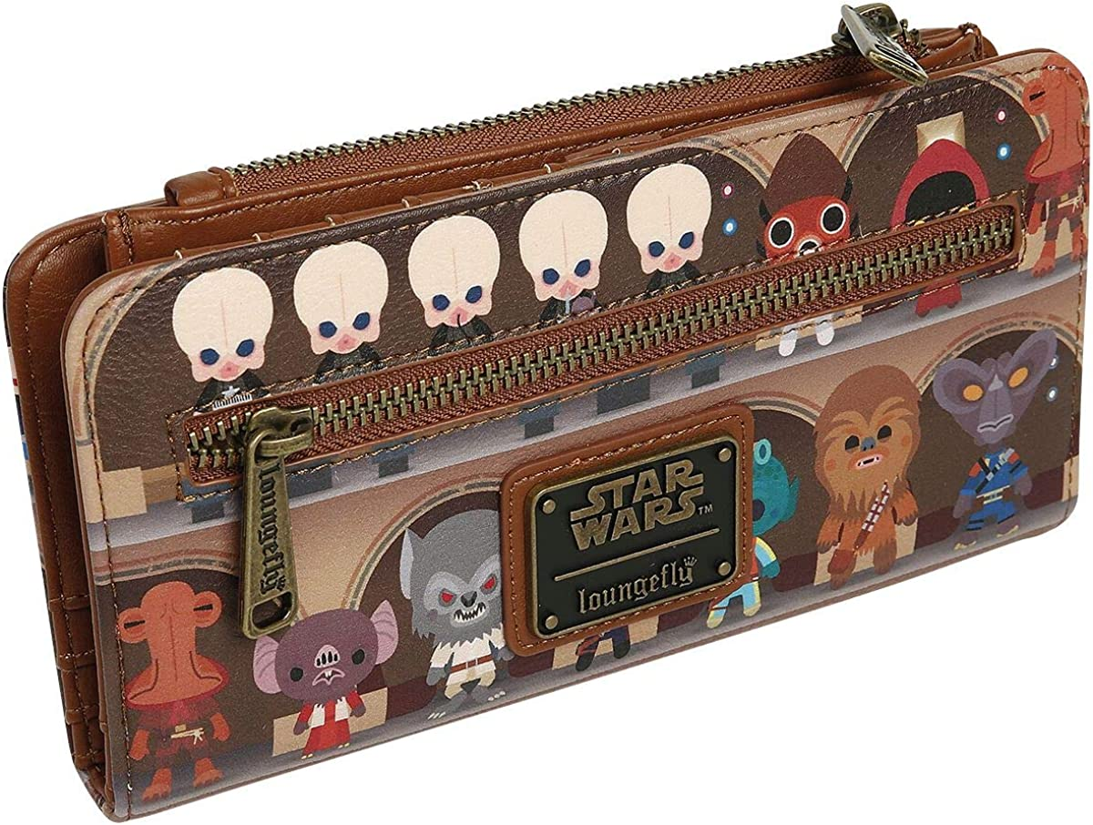 Loungefly x Star Wars Cantina Scene Bifold Wallet