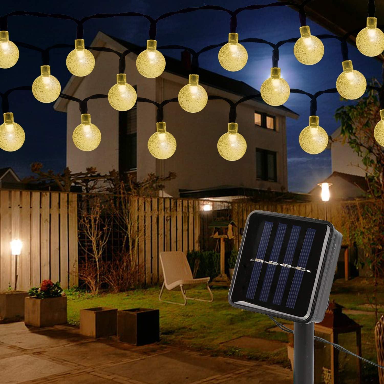 8 Modi f/ür Sonnenschirmbeleuchtung wasserdichte Sonnenschirm Lichterkette mit Fernbedienung 104 LED,Warmwei/ßes Licht WAWZNN Solar Sonnenschirm Lichter
