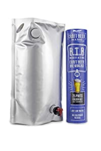 Muntons Craft Beer in a Bag Beer Making Kit | Craft Beer Brewing Kits for Home Brew | Golden Ale – Beer Kit with No Equipment Needed, Just Add Water, 25 Pints Brewed and Ready to Drink in 30 Days