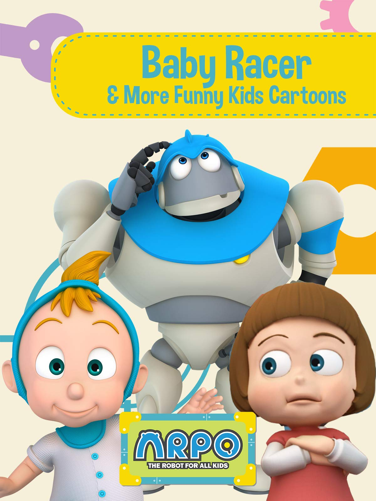 Arpo the Robot for All Kids - Baby Racer & More Funny Kids Cartoons on Amazon Prime Video UK