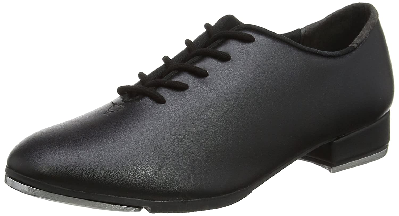 So Danca Ta04/05, Zapatos de Claque Unisex Niños Negro (Black) 32 EU SD-TA05