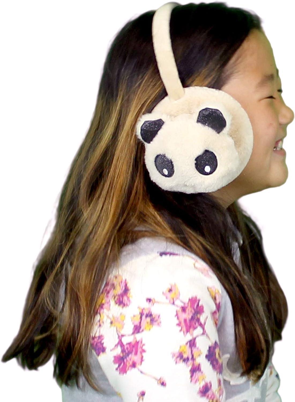 6 PK Plush Earmuff Ear Warmer Adjustable Soft Cozy Assorted Colors