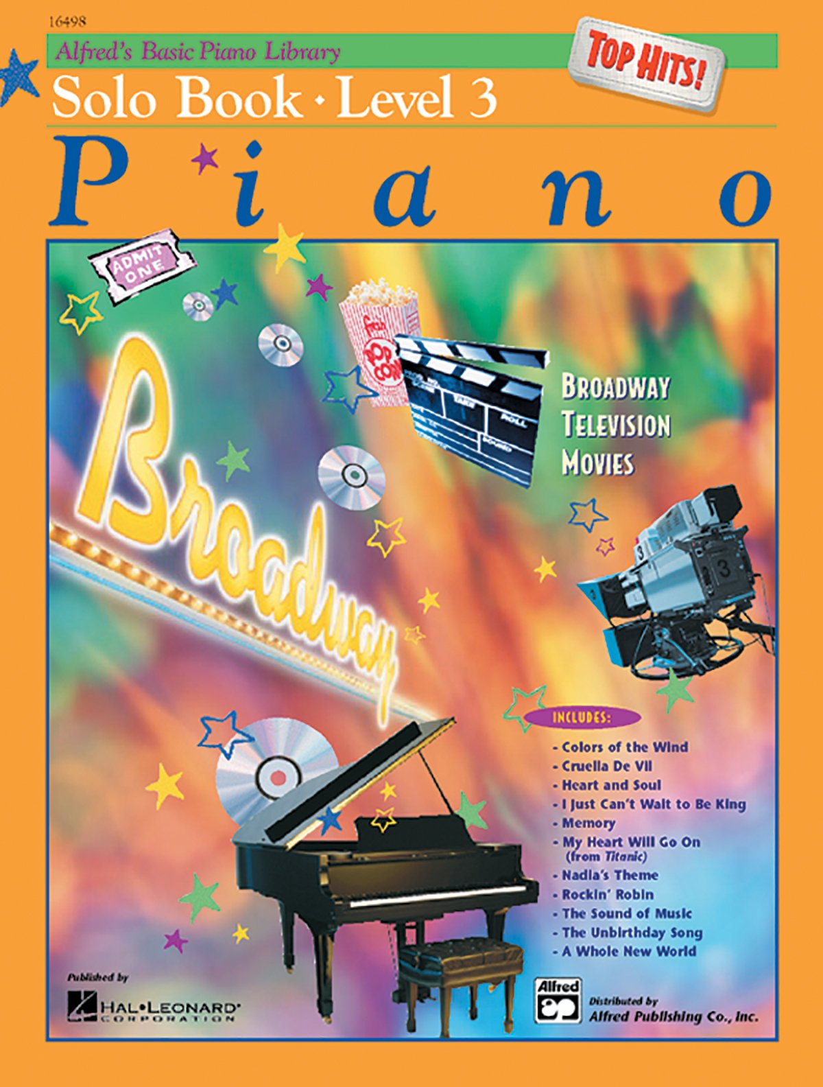 Alfred's Basic Piano Library Top Hits! Solo Book, Bk 3: E  L