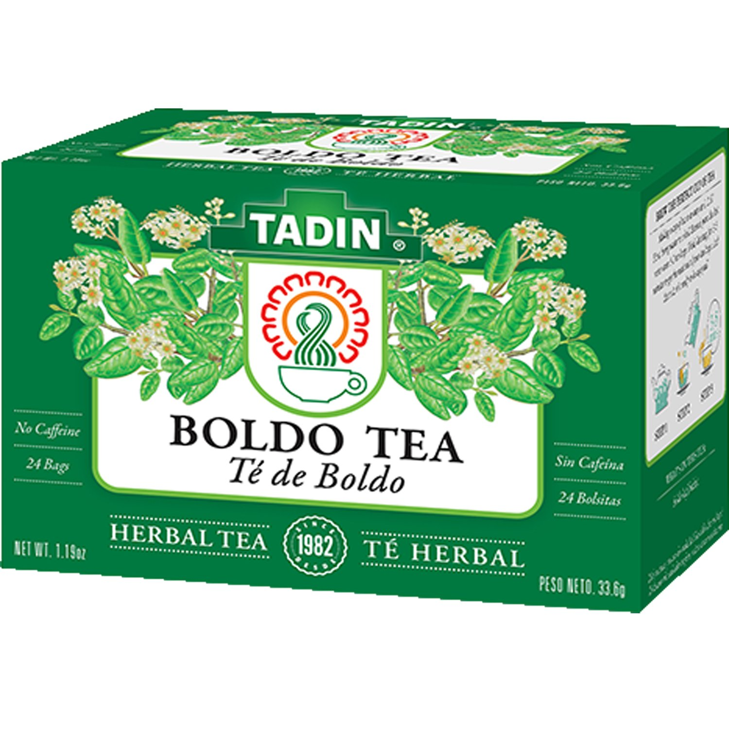 Tadin Boldo Herbal Tea (24 Teabags)