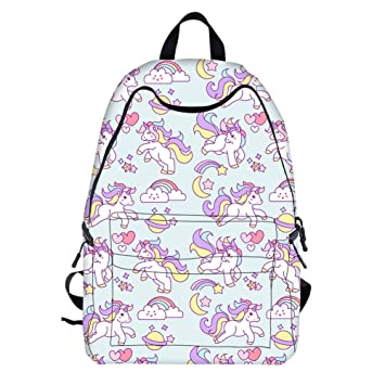 Buy Fancyku Unicorn Backpack for Girls b0feae126c802