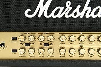 Amplificador guitarra marshall cabezal jvm 100w 4 joe satriani signature