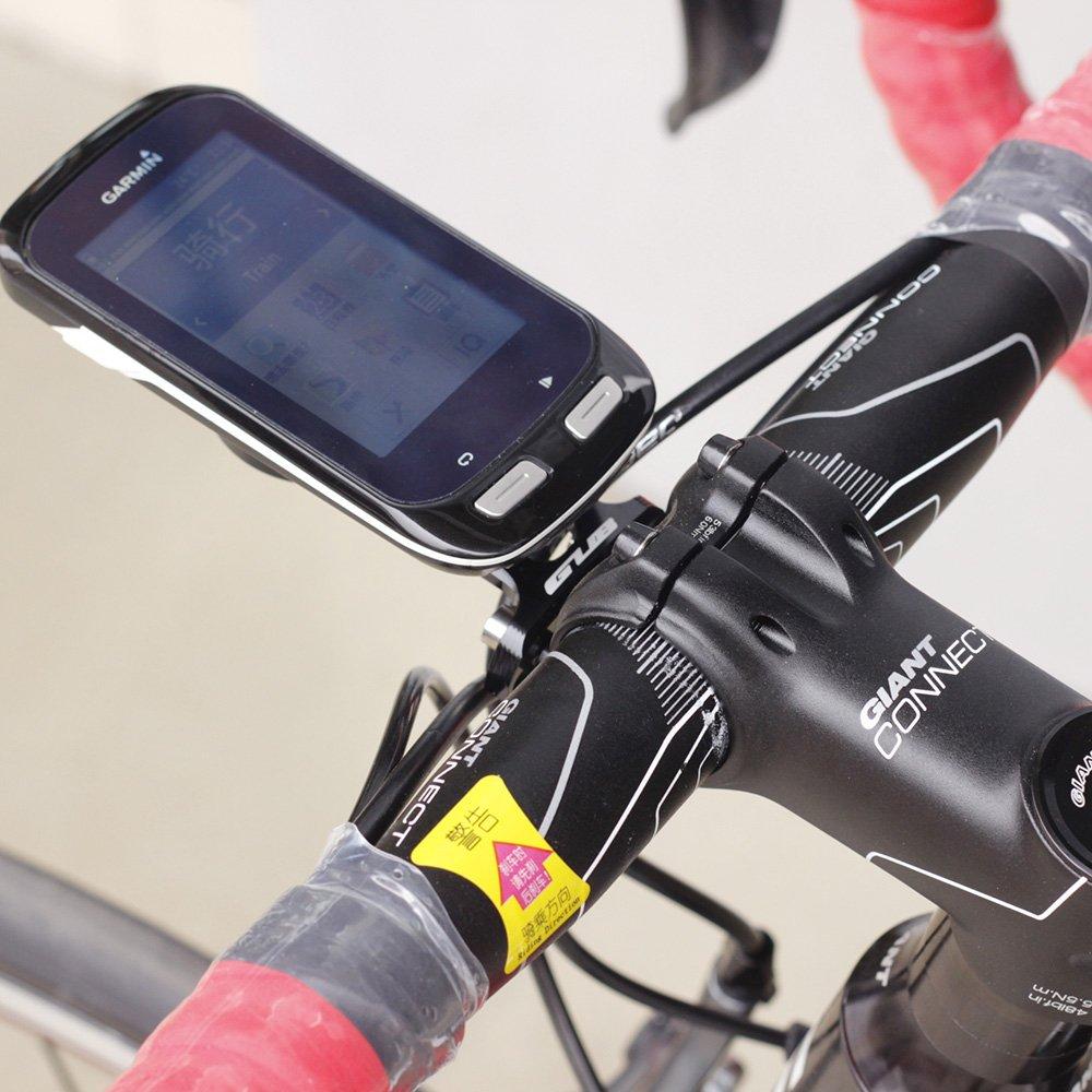 Bike Stem Extension Computer Mount GPS Bracket for Garmin Edge 1000 820 500 Bryton R530 530E R330 330E R310 310E Black