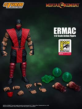 Mortal Kombat SDCC 2018 Storm Collectibles Ermac 1:12 Scale ...