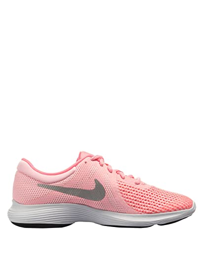 28f4591199a09 Nike Women s Revolution 4 (Gs) Trail Running Shoes Pink  Amazon.co ...