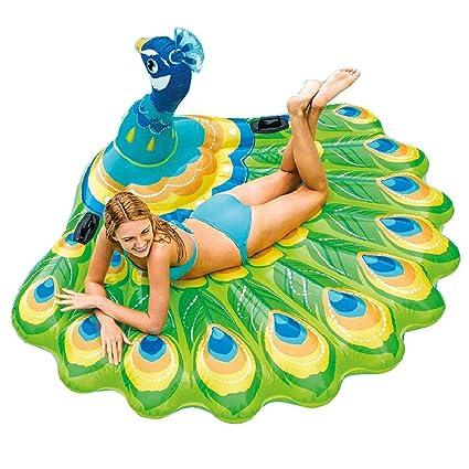 Amazon.com: MXDCY Flotadores de piscina, flotador hinchable ...