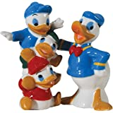 Westland Giftware Magnetic Ceramic Disney Donald and Huey Dewey and Louie Salt and Pepper Shaker Set, 4.25-Inch