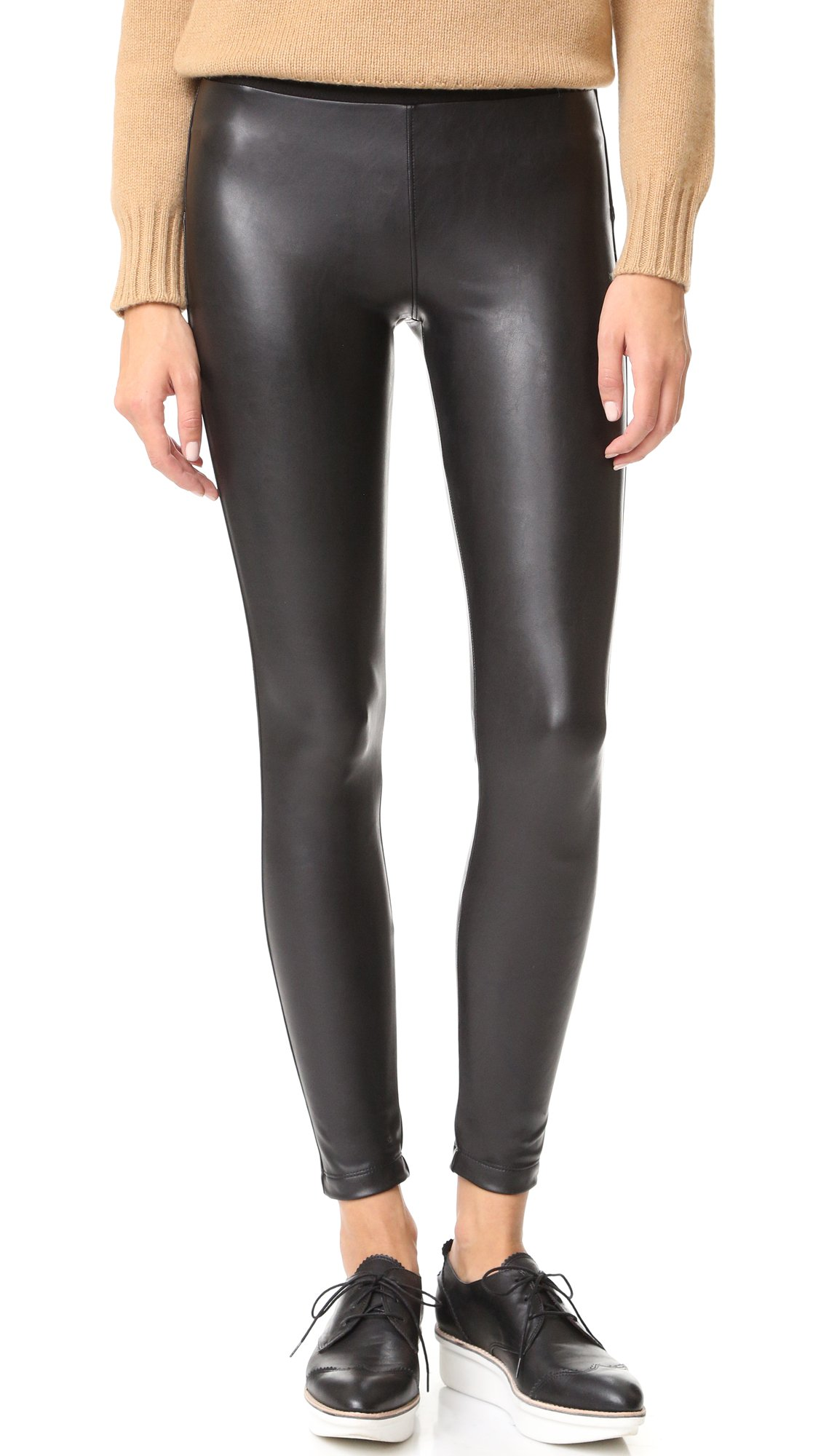 David Lerner Women's Vegan Barlow Legging, Classic Black, Small