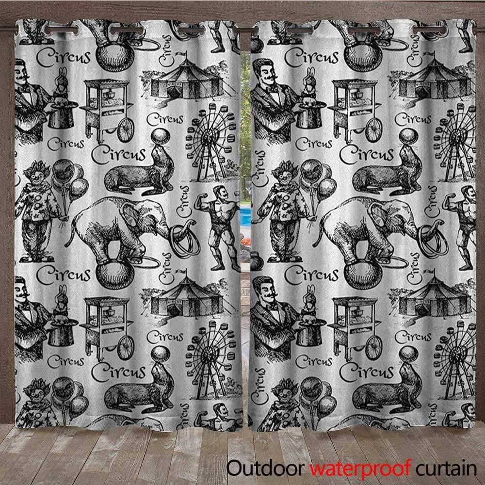 BlountDecor Moderno Panel de Cortina con Arandelas y Frase de ...
