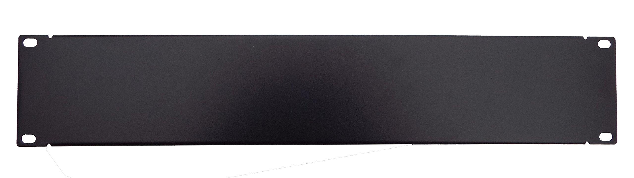 CNAWEB 19 inch 2U Blank Spacer Rack Mount Filler Panel