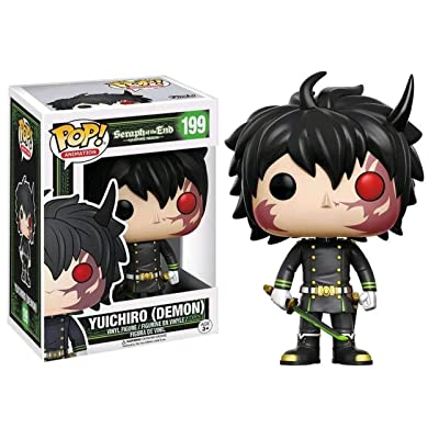 Funko POP Anime: Seraph of the End Yuichiro (Demon) Exclusive #199: Toys & Games