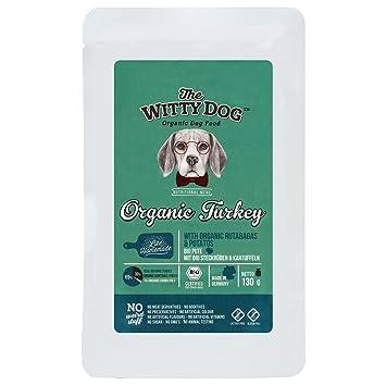 The Witty Dog, Comida BIO Húmeda Para Perros, Alimento Bio Completo: Pavo con