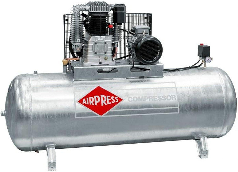 Airpress Druckluft Kompressor 7 5 Ps 5 5 Kw 11 Bar 500 L Kessel 400 Volt ölgeschmierter Kolben Kompressor Baumarkt