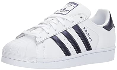 pretty nice d1158 ba1c9 adidas Originals Women s Superstar W Running Shoe Purple Night White, ...