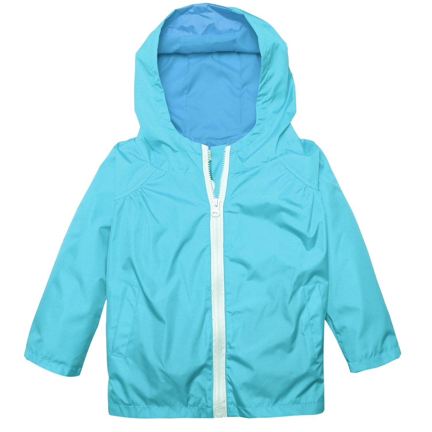 Arshiner Little Kid Waterproof Lightwight Jacket Outwear Raincoat with Hooded **AMM004995