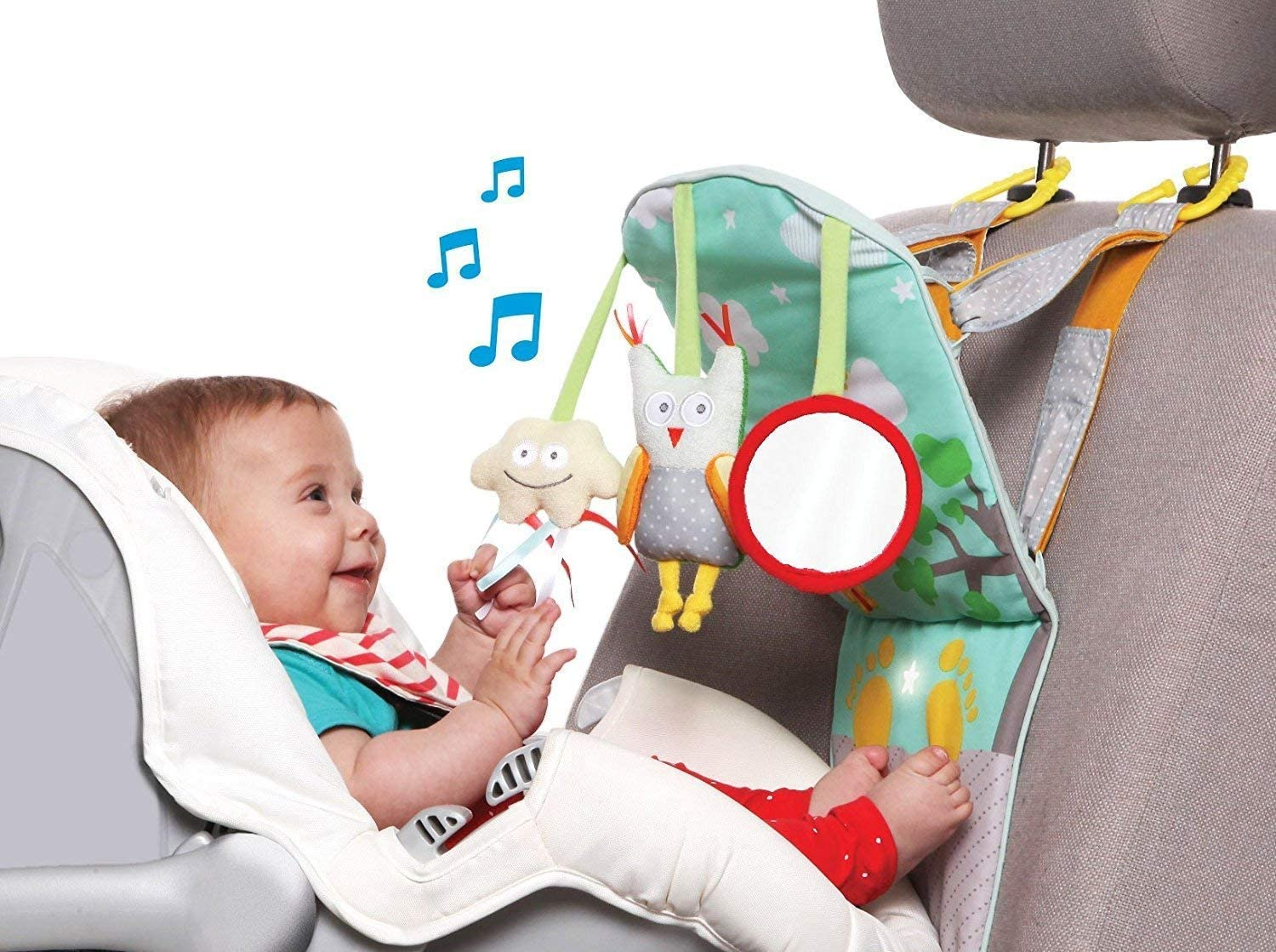 Taf Toys Baby//Kids Play /& Kick Car Toy│Travel Activity Centre│With Music+Lights