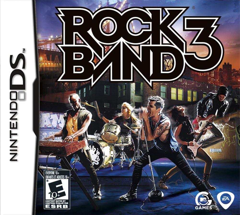 Amazon com: Rock Band 3 - Nintendo DS: Electronic Arts: Video Games