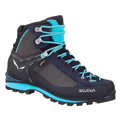 Salewa Damen WS Crow GTX Trekking-& Wanderstiefel, Blau (Premium Navy/Ethernal Blue 3985), 38.5 EU