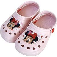 Zuecos Minnie Mouse para Niñas - Zuecos Disney Minnie Mouse para Playa o Piscina