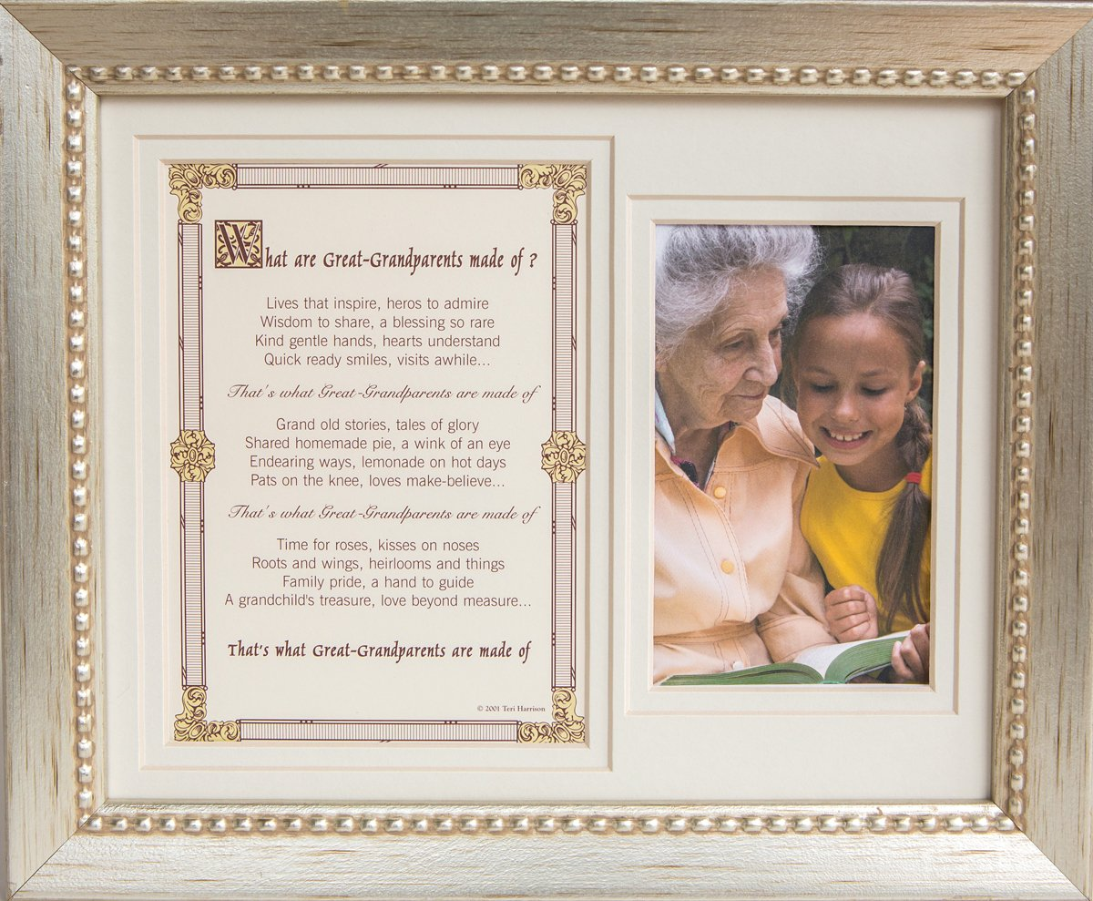 The Grandparent Gift Co, Great Grandparents Photo Frame 8x10 The Grandparent Gift Co. 4072