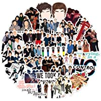 One Direction Stickers Big 50 Pcs Graffiti Anime Waterproof Trendy Adult Stickers, Perfect for Water Bottles Laptop…