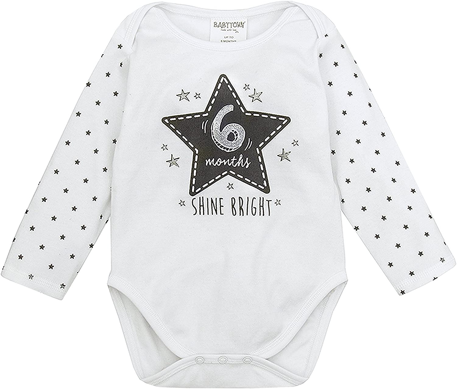 Strong Souls Baby Boys Bodysuits Pack of 3