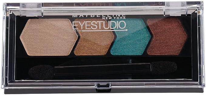 EyeStudio Color Plush Silk Eyeshadow Quad - Pink Persuasion by Maybelline #20