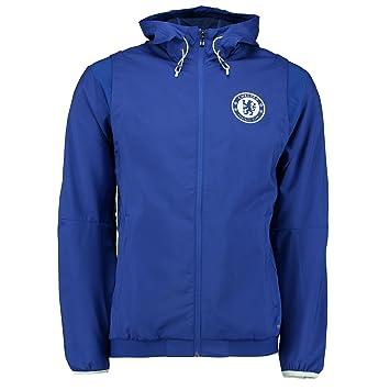 Adidas Chelsea FC EU Pre Jkt Chaqueta, Hombre, Azul (Cheblu), XXL: Amazon.es: Deportes y aire libre
