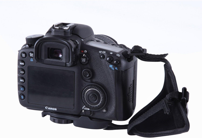 und Griffband f/ür DSLR-Kameras/ /verhindert Fallenlassen und stabilisiert das Video Movo Photo HSG-2 DualStrap/gepolstertes Arm