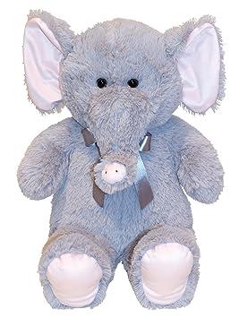 Elefante peluches Cuddly juguete de 60 cm de altura Oso de peluche suave aterciopelado - para
