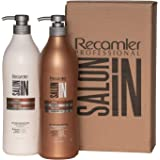 RECAMIER Salt Free Shampoo Repair and Ultra Hydrate Conditioner Hair Treatment Set | Champu y Acondicionador de Cabello…
