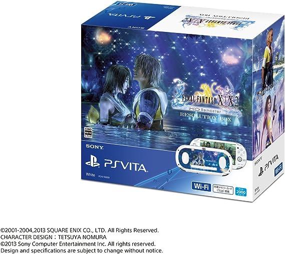 PlayStation Vita FINAL FANTASY X/X2 HD Remaster RESOLUTION BOX [Importación Japonesa]: Amazon.es: Videojuegos