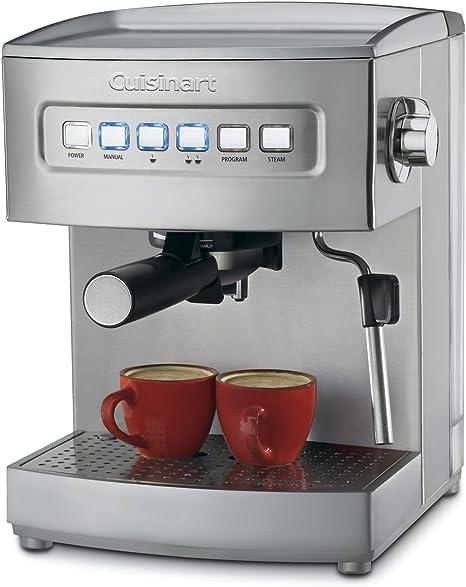 Cuisinart EM-200 Cafetera Espresso Programable, color Plateado