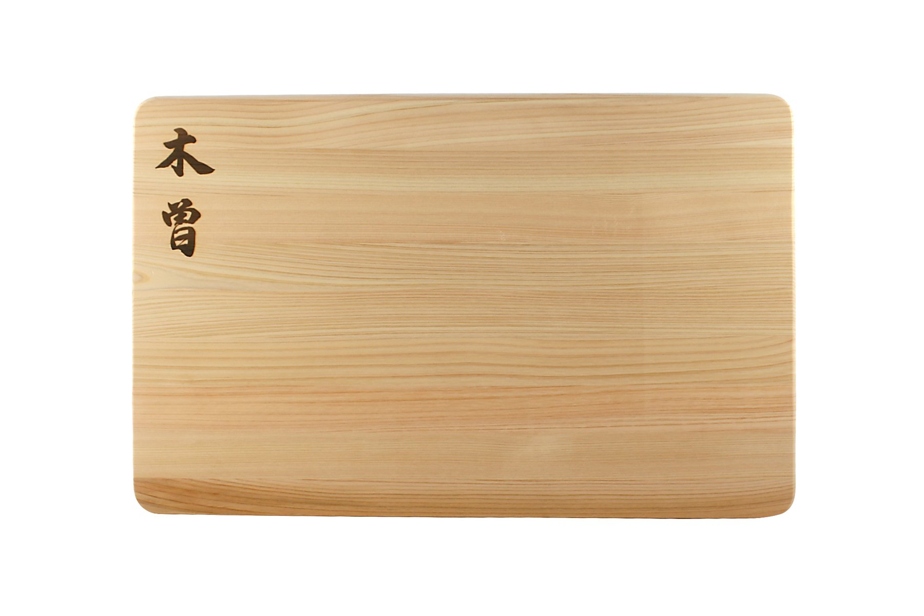 Kiso Hinoki Cutting Board 16 x 10 x 1 Inch, Made in Japan - Authentic Japanese Cypress