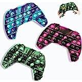 Sensory Fidget Toy Pop Push Game Controller Gamepad Shape Popular Push Tie Dye Bubble Sensory Fidget Toy Autism Special Needs