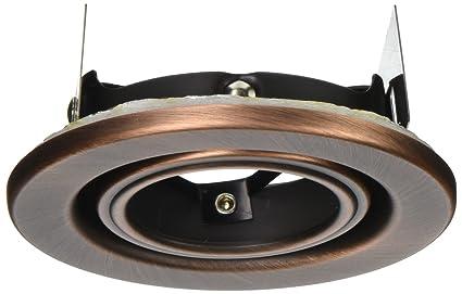 wac lighting hr 837 cb recessed low voltage trim mini round