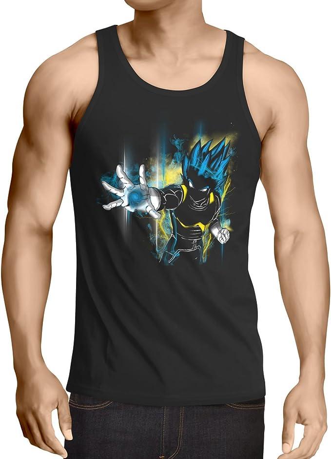 CottonCloud Power of Vegeta Camiseta de Tirantes para Hombre Tank Top God Z Goku Roshi Ball: Amazon.es: Ropa y accesorios
