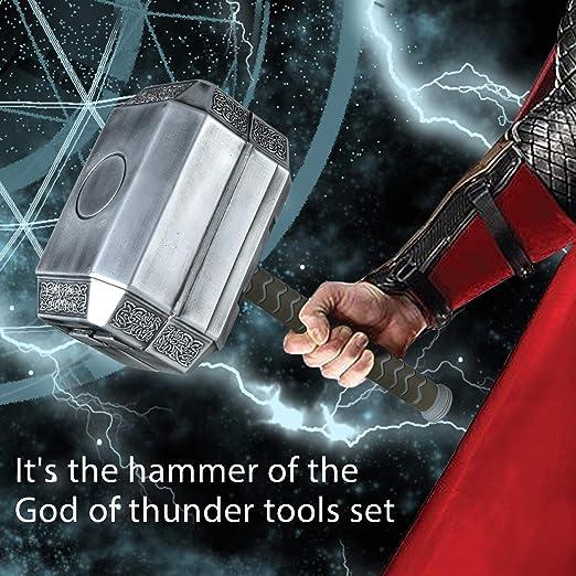 Avengers Marvel Legends Series Mjolnir Kit de herramientas ...