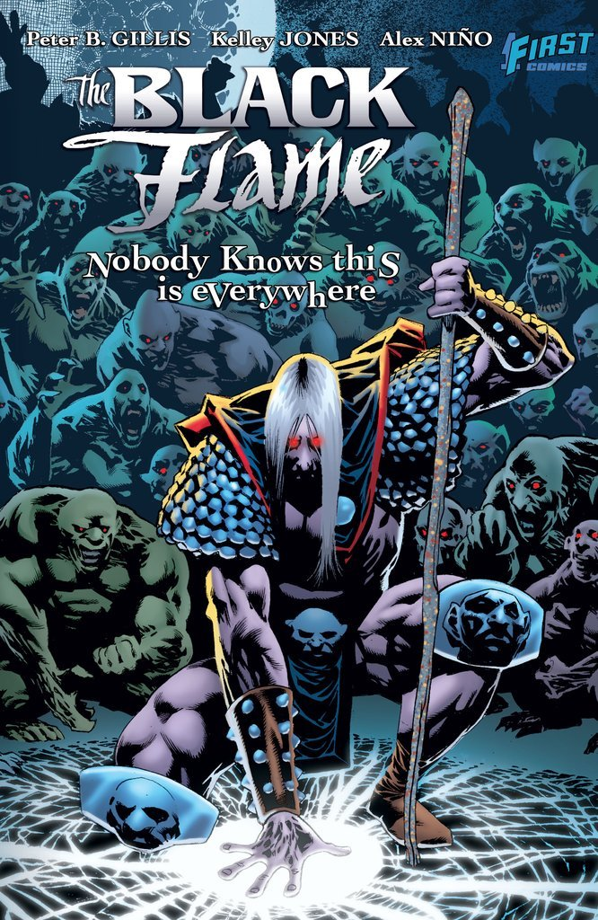 Read Online The Black Flame: Everyone Knows this is Nowhere PDF
