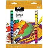 Royal & Langnickel Gouache Color Artist Tube Paint, 12ml, 24-Pack