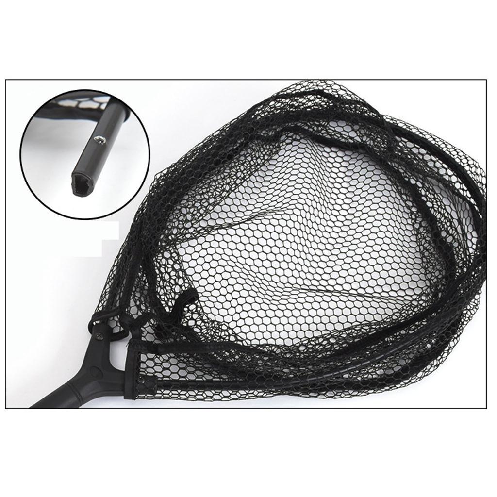 Toygogo Faltbar Nylon Netz Angelkescher Gro/ß Karpfen Angelnetz Unterfangkescher Fischkescher