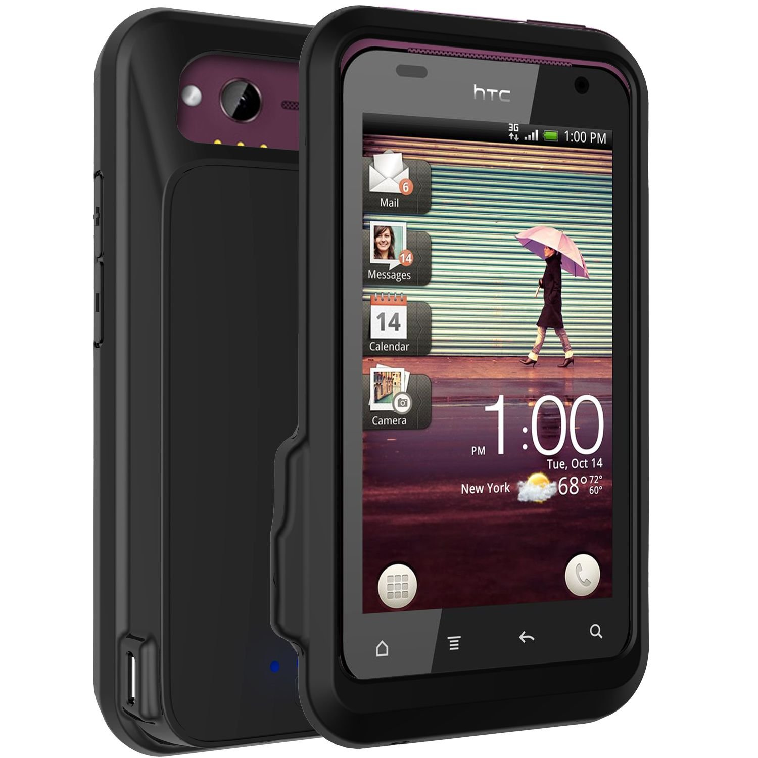 Amazon powerskin battery case for htc thunderbolt black amazon powerskin battery case for htc thunderbolt black cell phones accessories buycottarizona