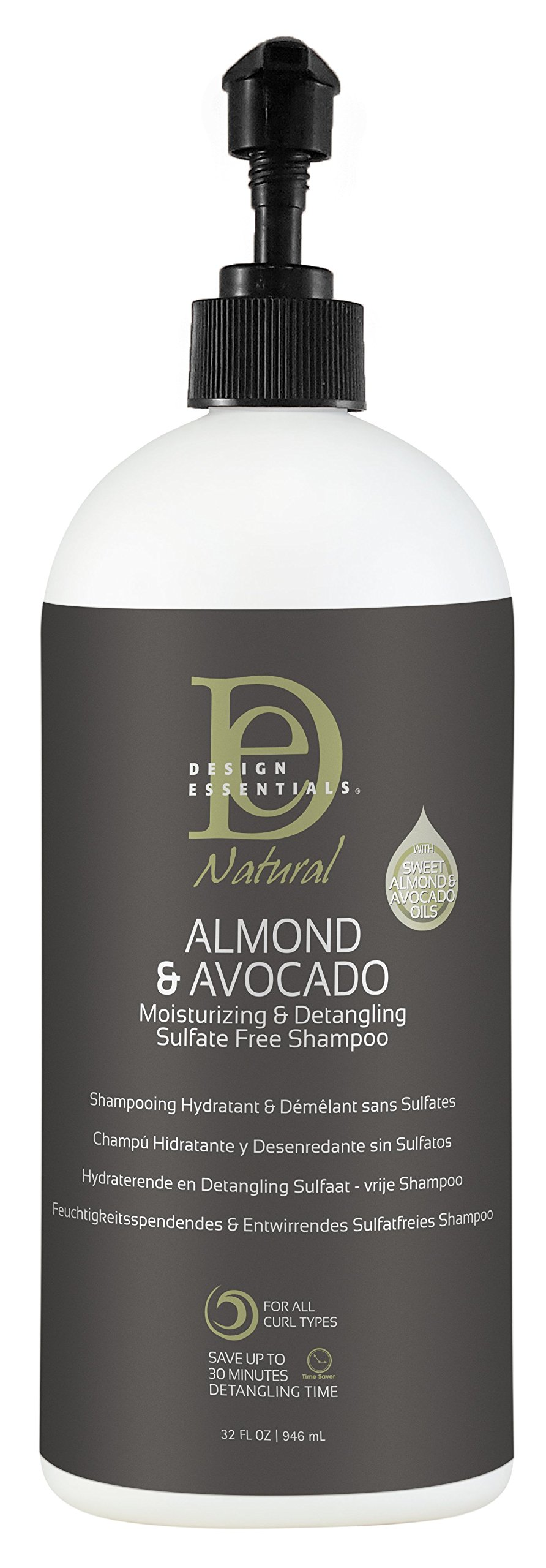 Design Essentials Natural Almond And Avocado Shampoo Somurichcom