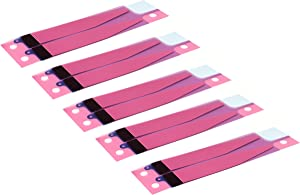 HKCB 5 PCS Battery Adhesive Tape, Battery Adhesive Strip Replacement for iPhone 7 4.7''
